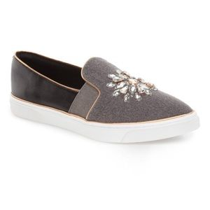 """a78fa1f53 Ted Baker London Shoes - Ted Baker """"Gheyen"""" Crystal Pointed Toe Sneakers"""